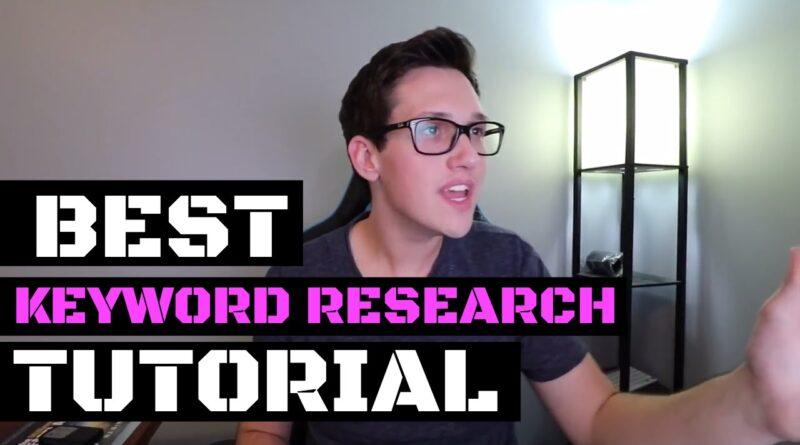 THE MOST EXCITING Keyword Research Tutorial EVER!